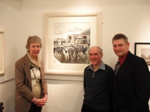 David with Artist Roger and Ros Westwood
