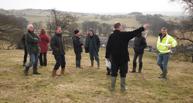 Mark Taylor of Natural England explains about UELS