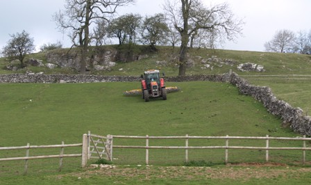 Spring work at Hoe Grange Farm