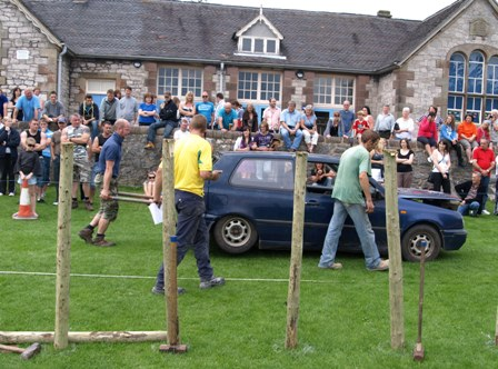 Brassington strong man competition