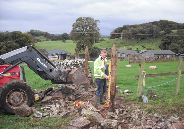 New gateway for third horse paddock