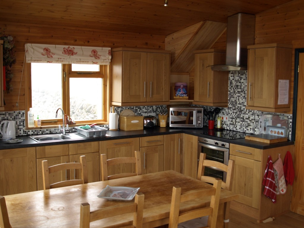 self catering holiday kitchen