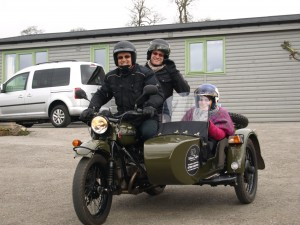 Sidecar Safari in the Peak District