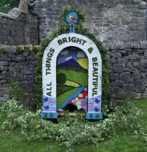 Tissington Well dressings 2014