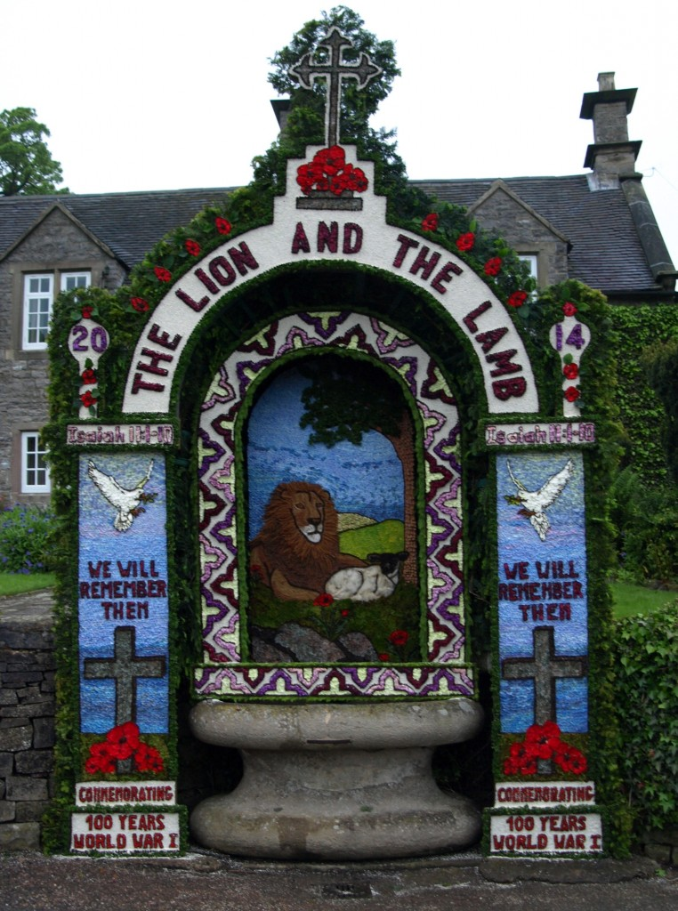 Hand's Well at Tissington Village 2014