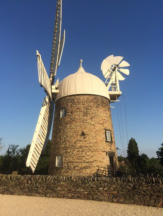 Six sail windmill
