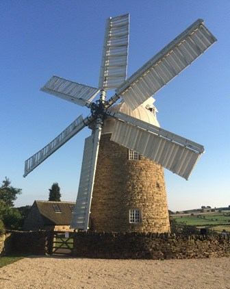 windmill at Heage in Derbyshire