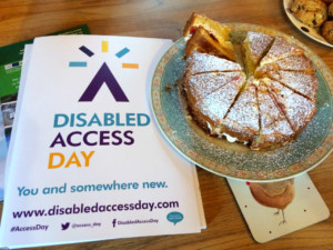 cake for Disabled Access Day