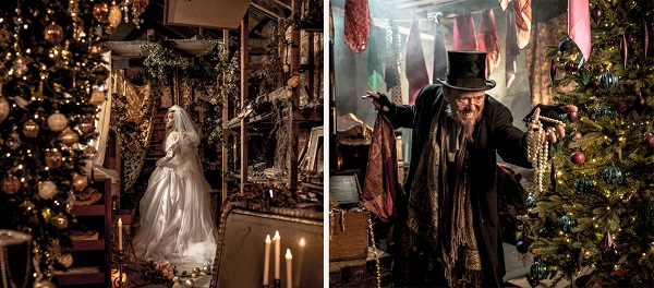 Miss Haversham and Fagin