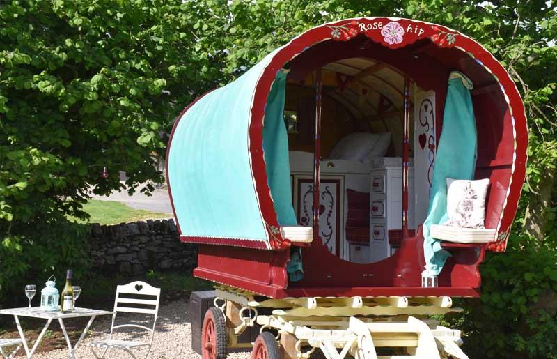romantic gyspy caravan