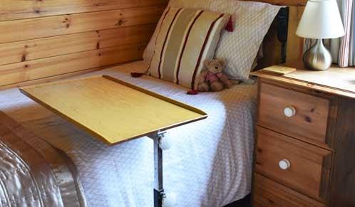 Tilting Bedside Table