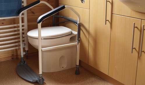 Portable Toilet Frame