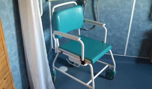 Assisted Shower Chair/Commode