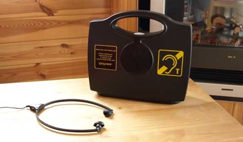Portable Induction Hearing Loop