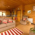 Hipley log cabin lounge