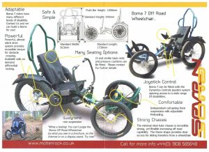 Boma 7 Off-road Wheelchair Specification