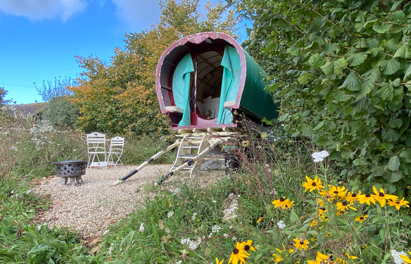 secluded glamping