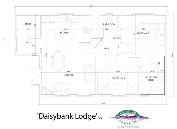 Daisy Bank Floor plan