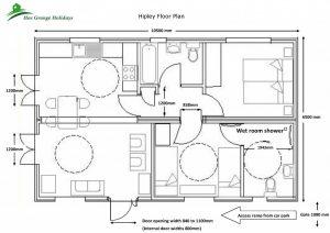 Hipley Log Cabin Floor Plan