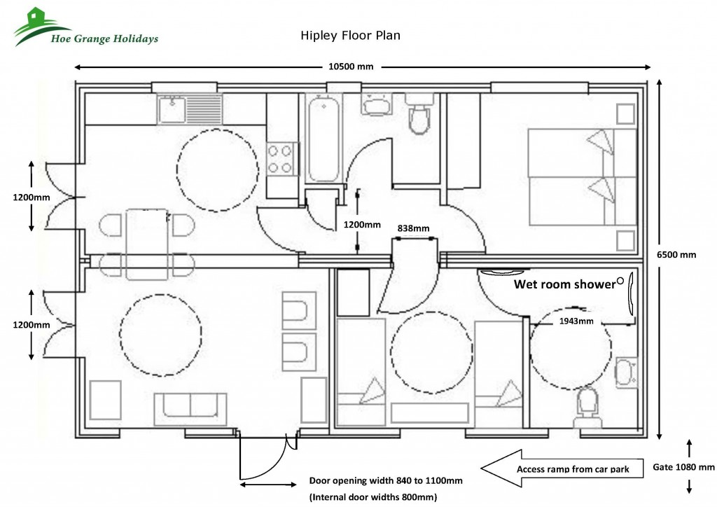 Hipley Log Cabin Floor Plan