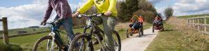cycling on High Peak Trail