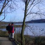 Bird watching at Carsington Water