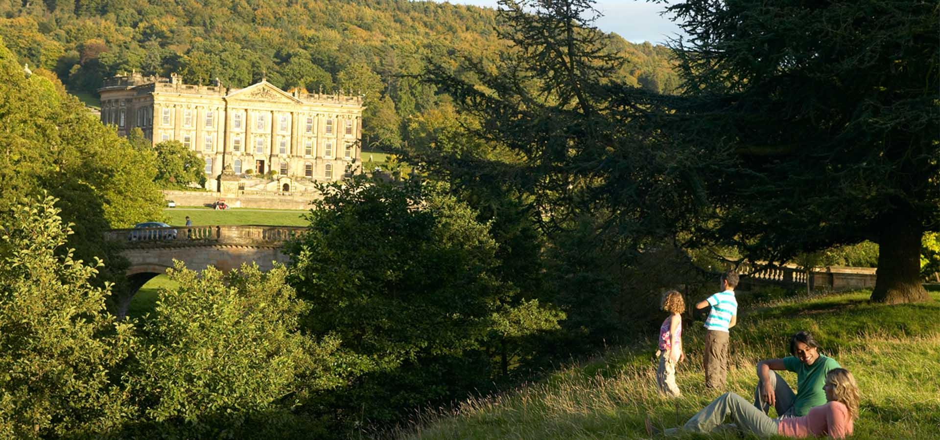 Chatsworth House Derbyshire