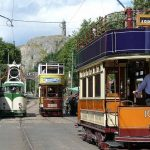 Trams at Crich