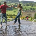 Chatsworth House water fall
