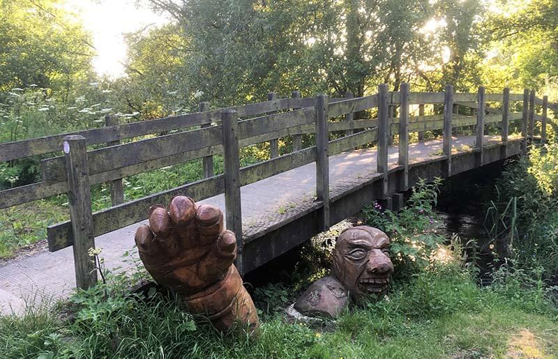 walk near Carsington