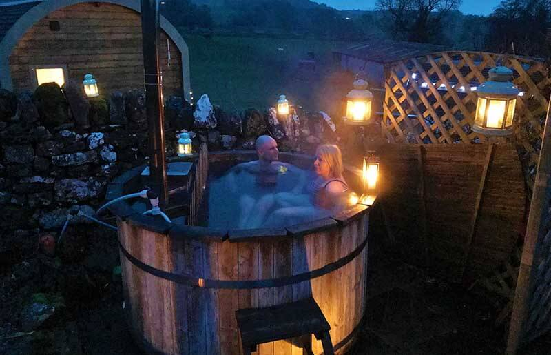 Hot Tub and Sauna Page Slider Image