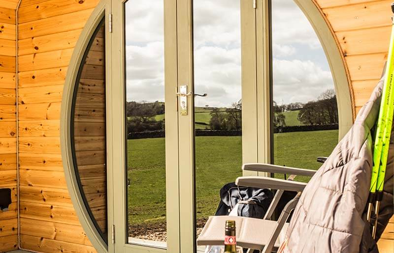 gorgeous glamping at Hoe Grange Holidays