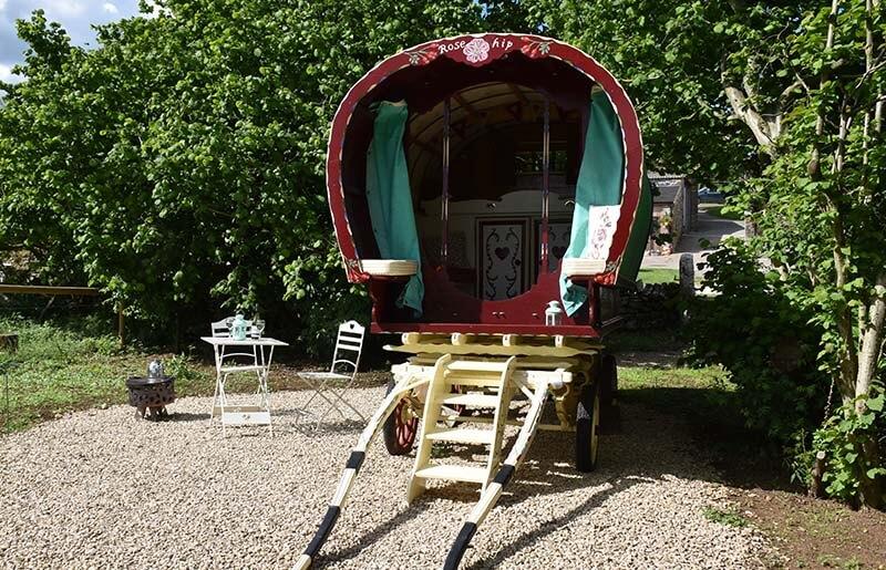 Gypsy Caravan glamping Matlock