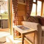 Pinder log cabin with view