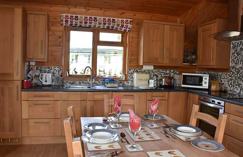 Self catering lodge Derbyshire