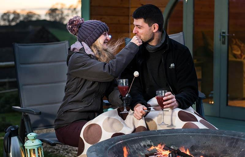 romantic stay Peak District