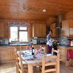 Pinder lodge kitchen