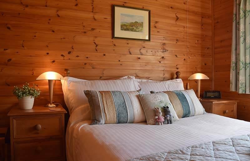 Pinder log cabin Derbyshire
