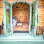 Peak District glamping pod