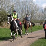 Bring Your Horse on Holiday riding on trail