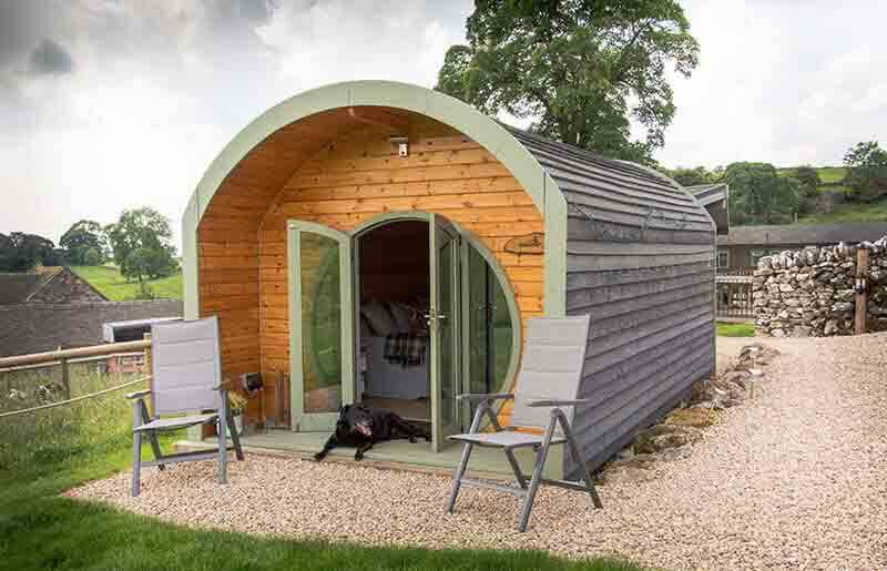 dog-friendly glamping pod