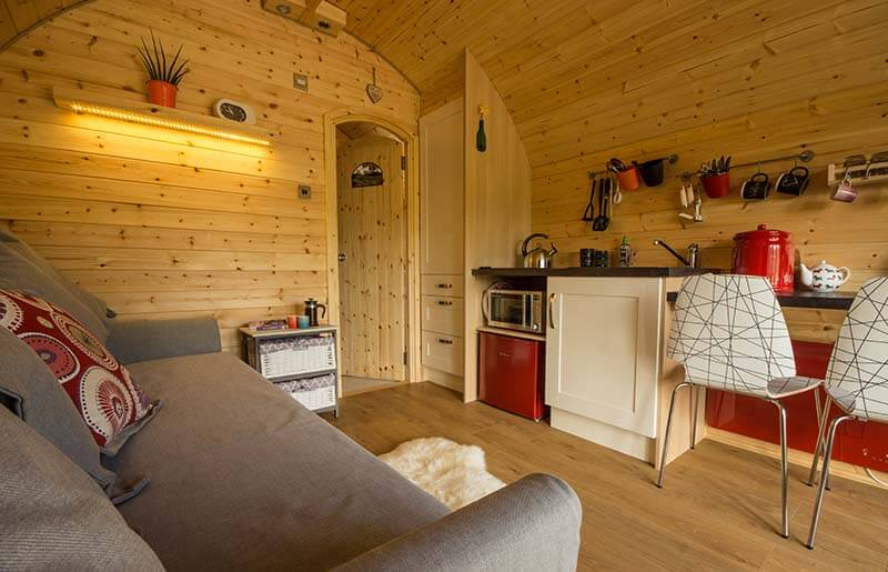 Gorgeous glamping pod Peak District