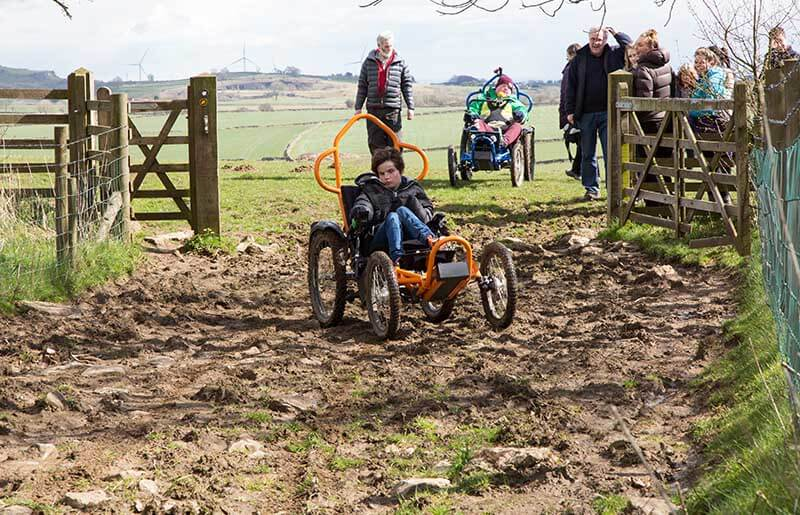 Off-Road Wheelchair Page Slider Image