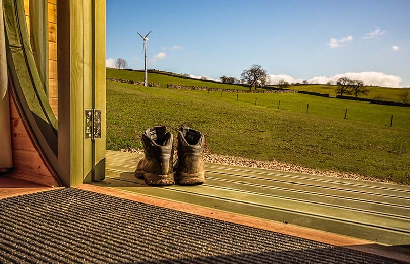 glamping walking holidays