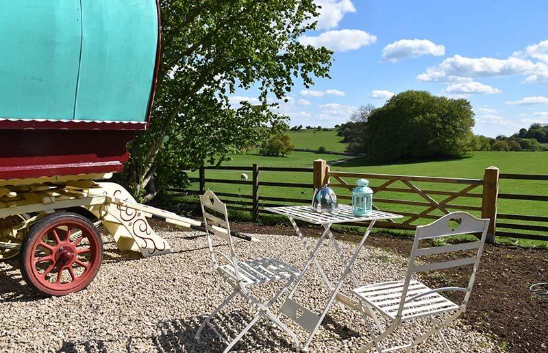 Glamping at Hoe Grange Farm