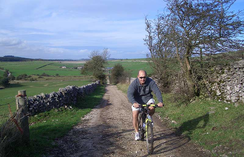 Cycling near Ashbourne