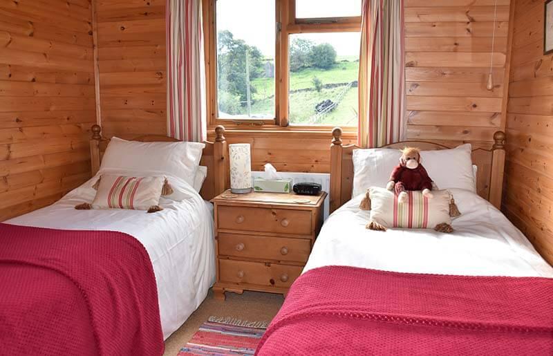 Pinder lodge children's bedroom