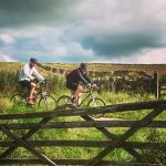 Cycling on the High Peak Trail Derbyshire