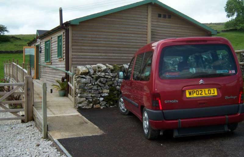 Accessible car park