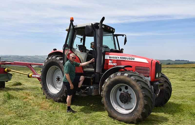 Massey Farm tractor